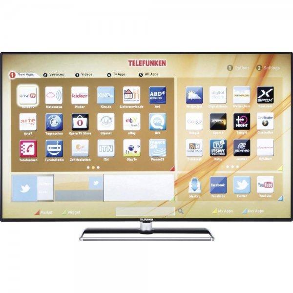 [Conrad ebay - B-Ware] verschiedene Telefunken TVs: 4x 49 Zoll D49F283N3C für 269€, 3x 40 Zoll D40F272A3 für 189€, 4x 48 Zoll 3D L48F249X3CW für 324€ uvm.