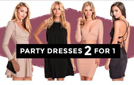 [Nelly] 2 für 1 auf bereits reduzierte Partykleider, z.B. 2 Vila Kleider für 17,45€ (inkl. VSK) statt ca. 30€