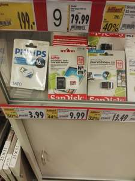 Lokal Kaufland Siegen 64GB MicroSD für 9,99€
