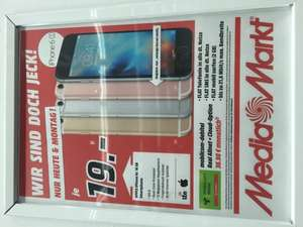(Lokal Media Markt Köln Kalk?) Apple iPhone 6s 16GB/64GB mit Vodafone Vertrag