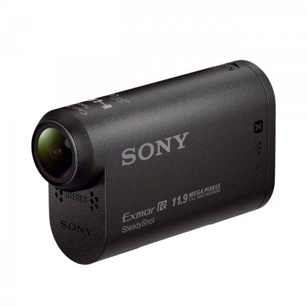 Sony AS20 Action-Cam (Full HD, Carl Zeiss Optik mit F2.8, Ultra-Weitwinkelaufnahmen, Bildstabilisator, Wlan) + Unterwassergehäuse/?Halterung für 102,38€ bei Amazon.it
