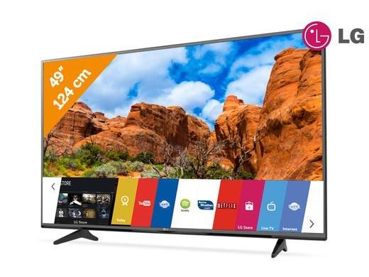 "TV LG 49"" 4K Ultra HD bei Ibood"