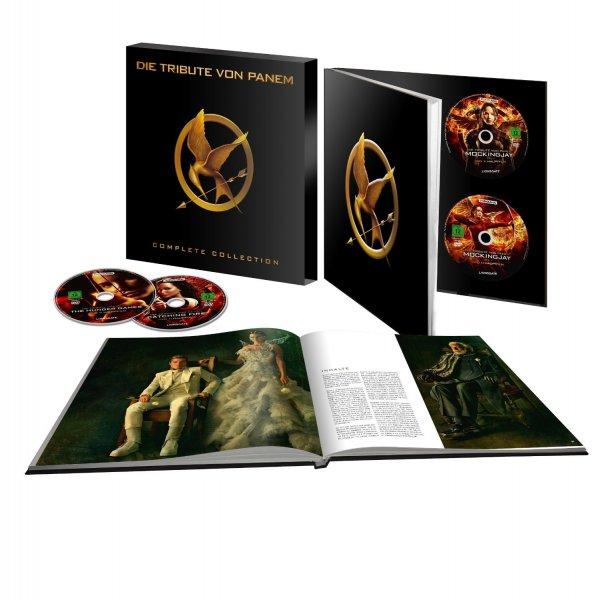 (thalia.de) Die Tribute von Panem - Complete Collection (Blu-ray) für 73,86€