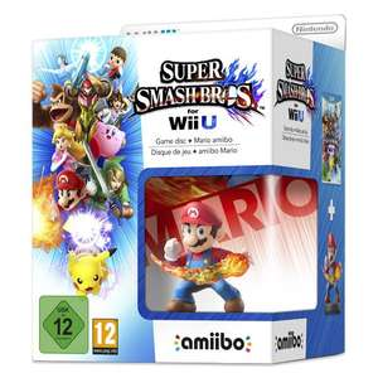 Wii U - Super Smash Bros + amiibo smash Mario im Real Online-Shop für 29,95 €