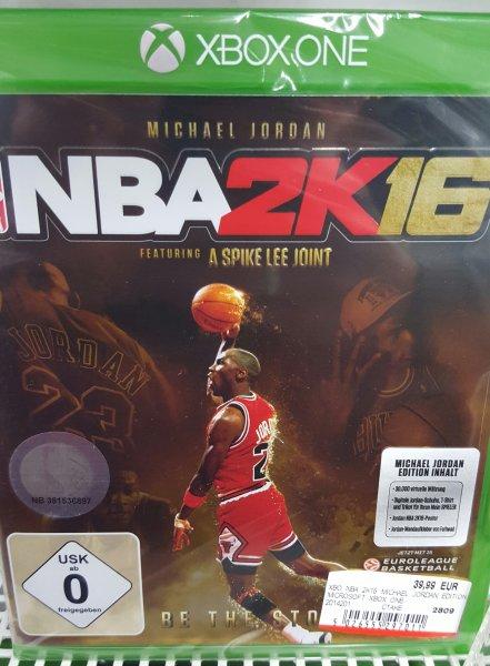 [Lokal MediaMarkt Oldenburg] XBOX ONE - NBA 2K16 Michael Jordan für 39,99€