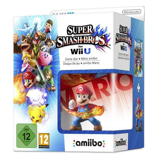 [Real Onlineshop] Super Smash Bros + Mario Amiibo Figur - Wii U - für 29.95€ inkl. Versand