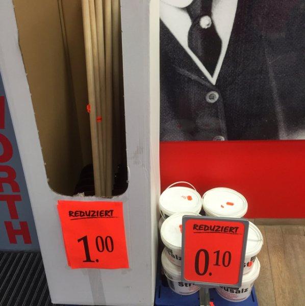 Ab 0,10€ Streusalz im Eimer 3 kg und Schneeschaufel für 1€ [Woolworth] Velbert