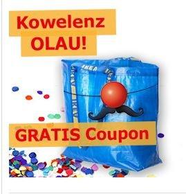 [Lokal IKEA Koblenz] gratis Frakta Tasche