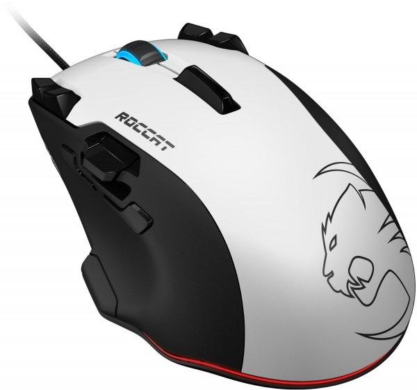 Roccat Tyon (weiß) All Action Multi-Button Gaming Laser-Maus (8200dpi, 14-Tasten, USB)