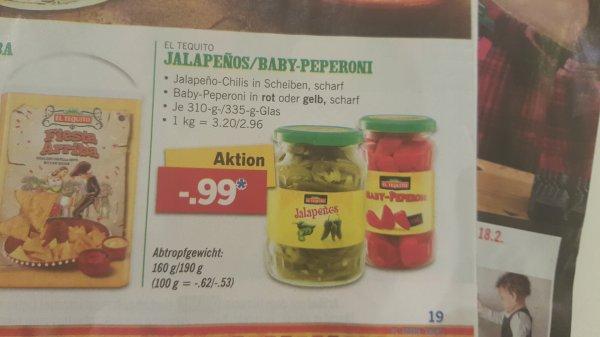 (Lidl) Jalapenos/Peperoni