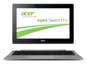 "[Amazon] Acer Aspire Switch 11V - Full-HD-IPS Core-M Tablet-Hybrid, 60 GB SSD, 11,6"", Windows 8.1"