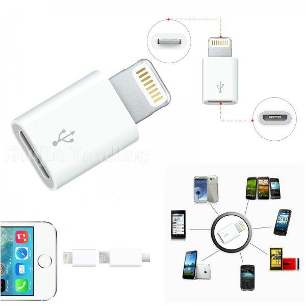 2x 8-Pin Lightning auf Micro USB Adapter für Apple @ebay.de 1€