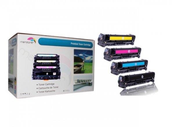 4 x Toner patrone kompatibel für HP Color LaserJet CE320A-CE323A, 128A HP CLJ CP1525, CP-1525n/nw, CM1415, CM-1415fn/fnw, CM1415, CM-1415MFP