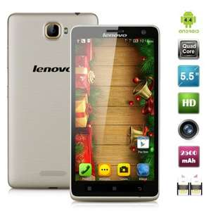 "Lenovo S856 LTE + Dual Sim, 5,5"" HD IPS Display, 1GB Ram, 4x 1.20GHz, 8MP Kamera, 8GB Speicher (erweiterbar), Android 5.1 für 72,71€ bei Amazon.it"