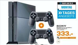 [Lokal Saturn Herford] Tagesangebot Heute 08-02] SONY PlayStation 4 Ultimate Player Edition CUH-1216B mit 1 TB inkl. 2 Controller für 333,-€