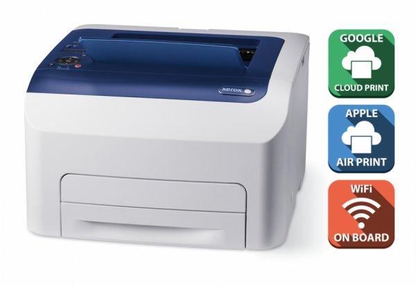 Xerox Phaser 6022NI Farblaserdrucker (A4, Drucker, Netzwerk,WLAN, Apple AirPrint, Google Cloud Print) für 129€ bei Office Partner