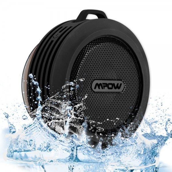 Bluetooth 3.0 Sprecher für Dusche / BAD mit Saugknopf Wasserdicht / Stoßfest / Staubdicht @amazon