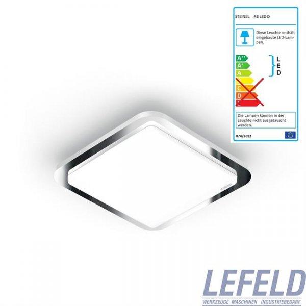 Steinel:ebay - Sensorleuchte Design Innnenleuchte RS LED D1 D2  Chrome oder Edelstahl * 44.95 statt 59€