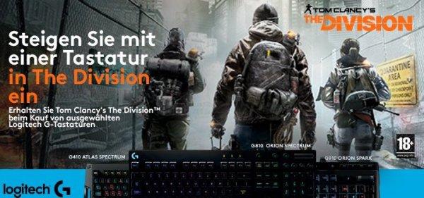Amazon: Logitech Gaming Aktion: Gratis Downloadcode für die PC-Version von Tom Clancy's The Division