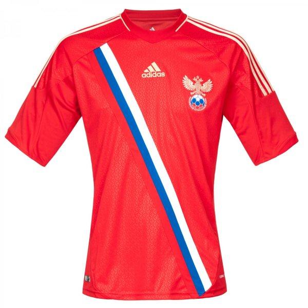 Adidas - Russland Home Trikot EM 2012 für 20,98€ statt 36,48€
