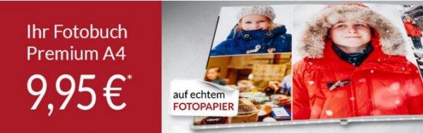 Premium Fotobuch A4 26 Seiten für 9,95€, 98 Seiten für 24,95€ (PixelNet)