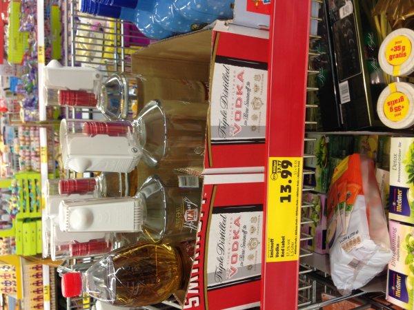 [ggf. Lokal Penny Friedberg (Hessen) Industriegebiet] Smirnoff Red Label No.21 1,5l