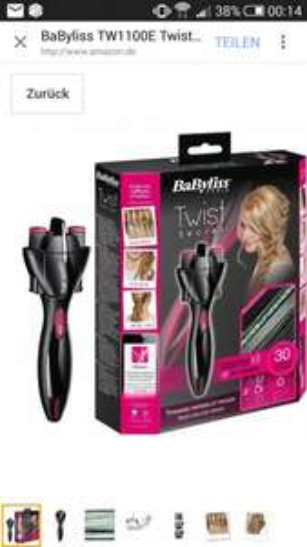 BaByliss TW1100 E Twist Secret