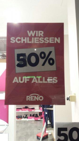 [Reno Berlin Wedding] 50% auf alles wegen Schliessung