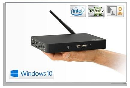 CSL Narrow Box. MiniPC - Win10  - max 14Watt - ohne Lüfter - Lautlos