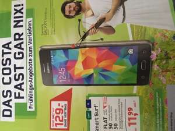 Mobilcom: Samsung Galaxy Grand Prime ohne Vertrag 129€