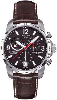 [amazon.de] Certina Herren-Armbanduhr XL Chronograph Quarz Leder C001.639.16.057.00 für 330,99 €