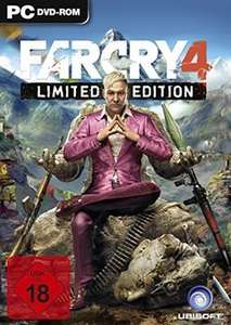 Far Cry 4 Limited Edition PC 15,98€ @Ubisoft