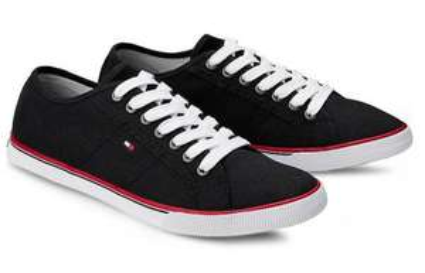 [Görtz] 50% Rabatt auf ausgewählte Schuhe im Sale, z.B. Tommy Hilfiger Herren Canvas Sneakers für 37,47€ inkl. VSK statt 60€