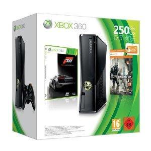SATURN   XBOX 360 250 GB + Forza 3 + Crysis 2 + 3 Monate Gold für 149 EUR