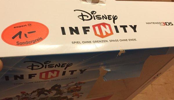 (Lokal) Expert Schwerin - Nintendo 3DS Disney Infinity - Starter Set 1€