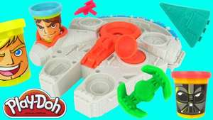 (Amazon Prime)  Play-Doh Star Wars Millennium Falcon - Knete - idealo: 19€