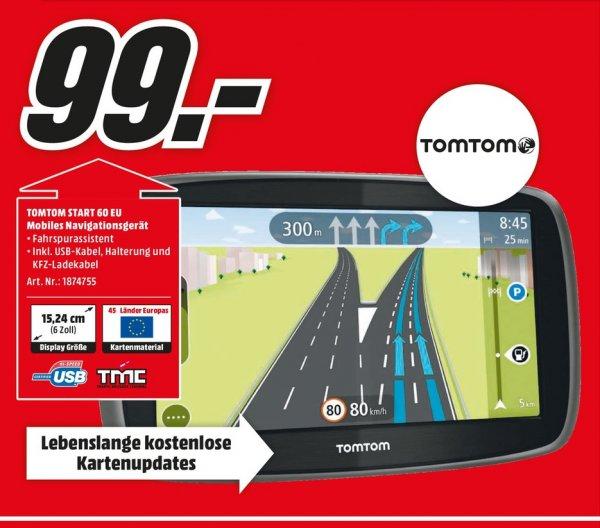 (Lokal) TomTom START 60 EU für 99€ @ Mediamarkt Gütersloh