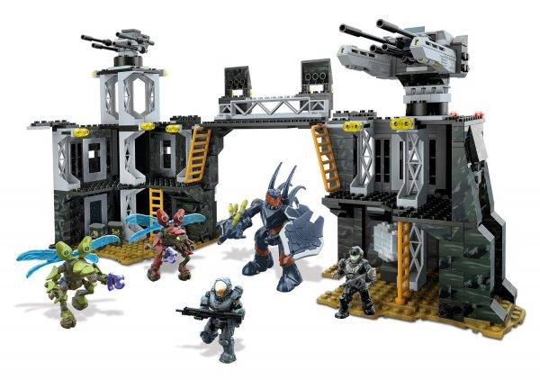 [amazon.de] Mattel Mega Bloks CNG69 - Halo - UNSC Firebase für 30,51€