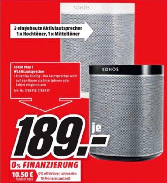 Diverse Sonos Produkte bei Mediamarkt Flensburg