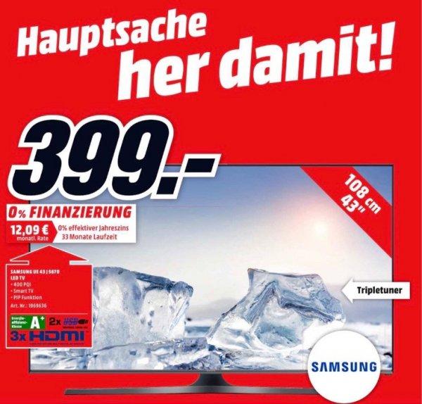 SAMSUNG UE43J5670 43Zoll im MediaMarkt Flensburg