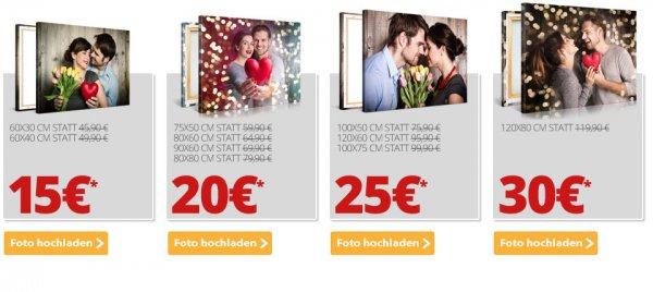 [Meinfoto.de] Fotoleinwand nächste Formate zum echt guten Preis: 90*60cm oder 80*80cm für 20€ zzgl, 6,90 Versand