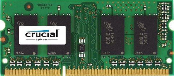 [Saturn] Crucial 8GB SO-DIMM (DDR3L-1600, CL11) für 30,98€ - 16GB für 61,96€