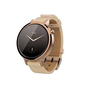 [Amazon.es] Motorola Moto 360 Smartwatch 2. Generation 2015 (Android & iOS) in gold / 42mm für 246,74€