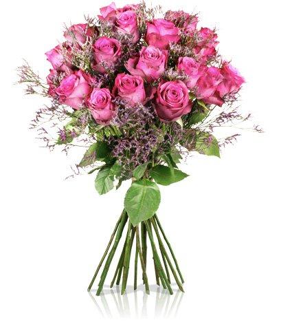 18 rosa Rosen für 18,90€ inkl. VSK @miflora