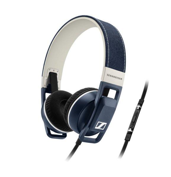 Sennheiser Urbanite On-Ear Kopfhörer iPhone/iPod/iPad, Denim/Blu für 74,15 €