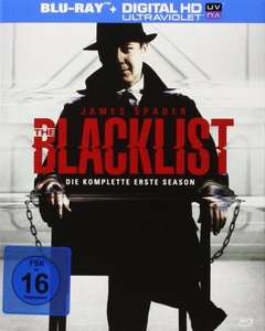 [Amazon Prime + Mediamarkt] The Blacklist - Staffel 1 (Bluray) inkl. UV-Copy für 12,90€