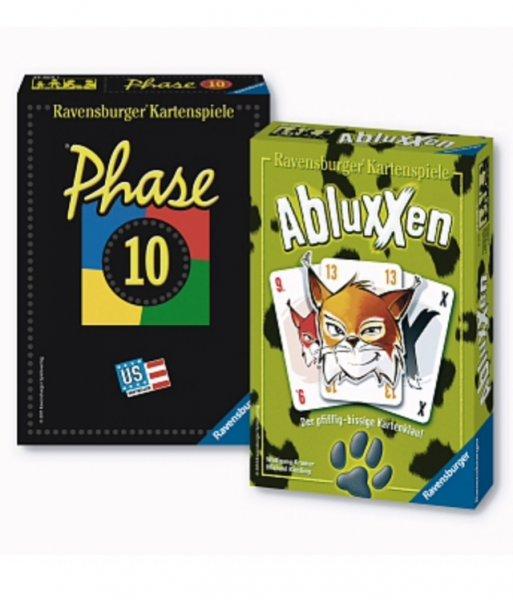 Phase 10 + Abluxxen [Kartenspiel-Bundle] für 9,95€ // für 7€ bei Filialabholung im Toys'R'Us