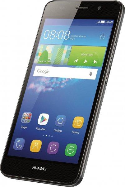 [Cyberport] Huawei Y6 LTE + Dual-SIM (5'' HD IPS, Snapdragon 210 Quadcore, 2GB RAM, 8GB intern, 8MP + 2MP Kamera, kein Hybrid-Slot, 2200 mAh wechselbar, Android 5.1) für 111€
