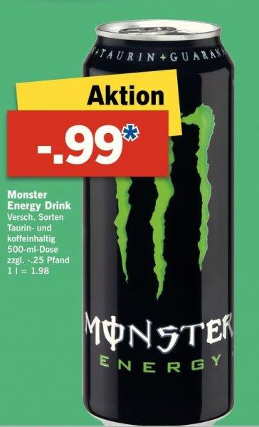 Monster Energy Drink LIDL ab 11.02.2016 (offline)