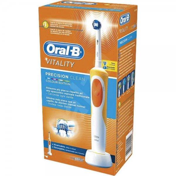 Oral-B Vitality Precision Clean Farb-Edition für 17,99€ oder 2x Stück für 30,43€ bei Conrad.de